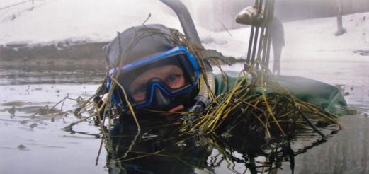 Особенности зимней подводной охоты