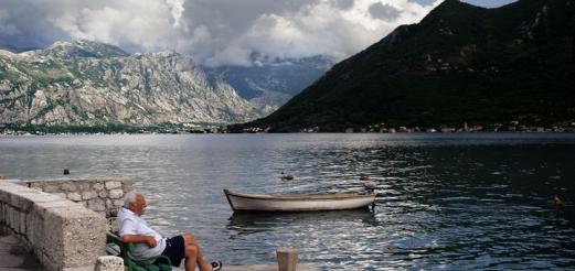 Зимняя рыбалка в Черногории